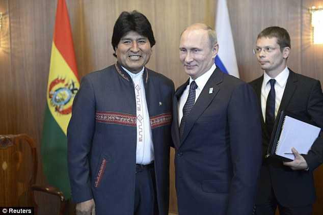 Caída del petróleo, clara agresión económica contra Venezuela y Rusia: Evo Morales