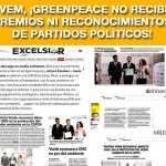 Greenpeace acusa lamentable y ofensiva declaración del PVEM