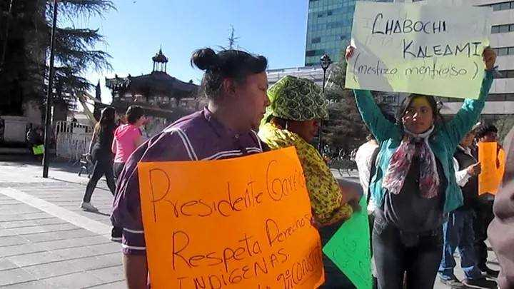 Alcalde prepotente ignora a indígenas en Chihuahua