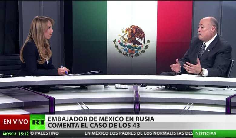 Medio internacional cuestiona a embajador mexicano sobre Ayotzinapa