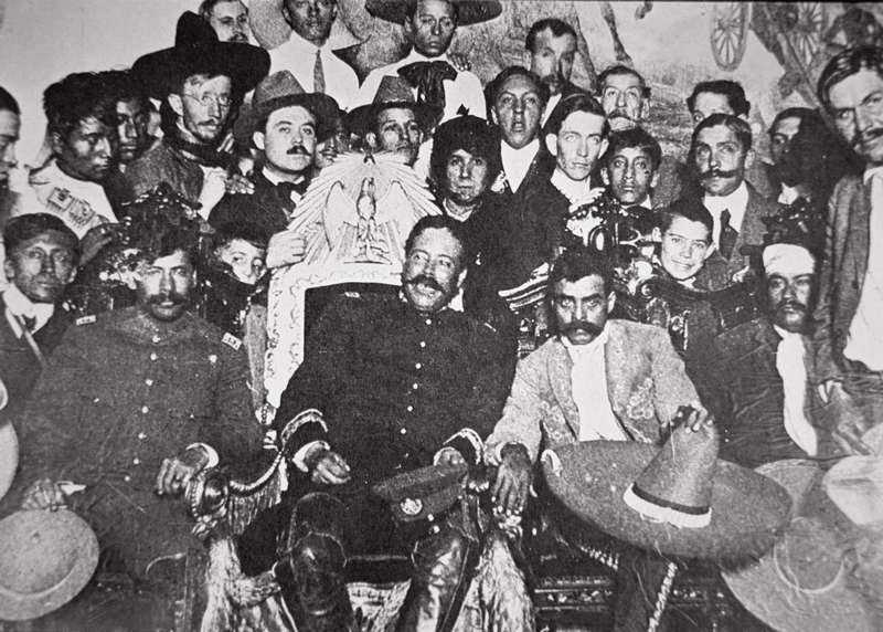 100 años de la entrada triunfal de Villa y Zapata en la ciudad de México