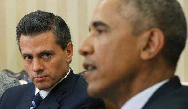 Obama se dijo triste por Ayotzinapa, Peña Nieto se molesta