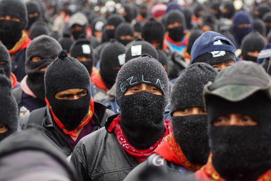 ¡Fuck Trump! a Peña Nieto, Macri, Rajoy, Putin, Merkel…: EZLN