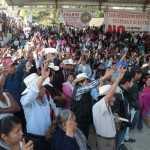 Miles de indígenas rechazan hidroeléctricas en río Apulco, Puebla
