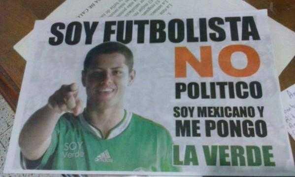 """""""Chicharito"""" denuncia uso de su imagen en campaña electoral"""