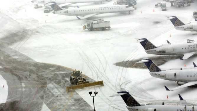 Tormenta de nieve en Estados Unidos causa 7 muertos