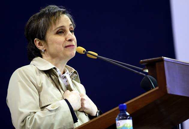 Mensaje Carmen Aristegui  en VIVO #AristeguiSeQueda