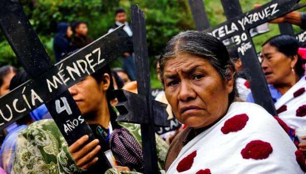 Las Abejas de Acteal: Peña y Manuel Velasco quieren eliminar a los pueblos indígenas