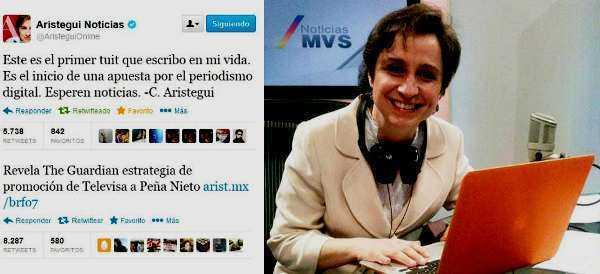 Aristegui llama a MVS a revertir manotazo autoritario (video)