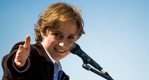 Meyer y Dresser llaman a ampararse por el regreso de Aristegui a MVS