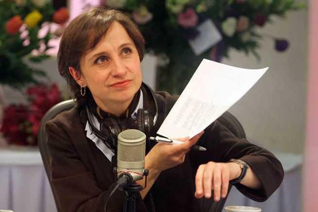 MVS despide a Carmen Aristegui