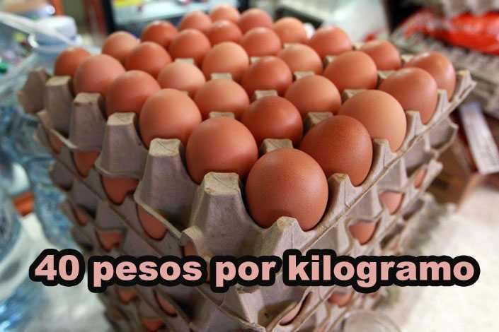 El precio del huevo por las nubes