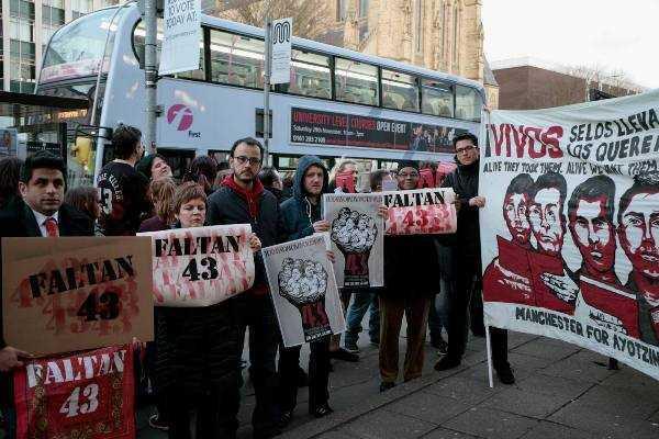 Europa, comunicado del Frente Unido por Ayotzinapa