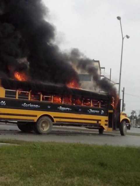 Reynosa cierran cruce con EU por tiroteos (videos)