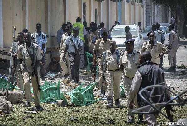 Atentado deja 8 muertos en Somalia