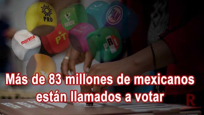 Arrancó la campaña electoral en México
