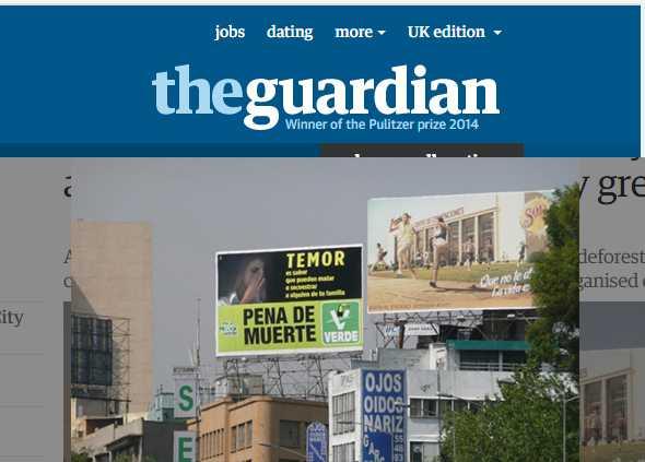 PVEM, pro-muerte, corrupto y no muy verde: The Guardian