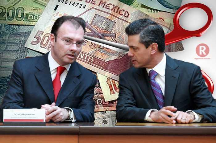 Gobierno de Peña Nieto, planea recortes al campo, educación y pensiones