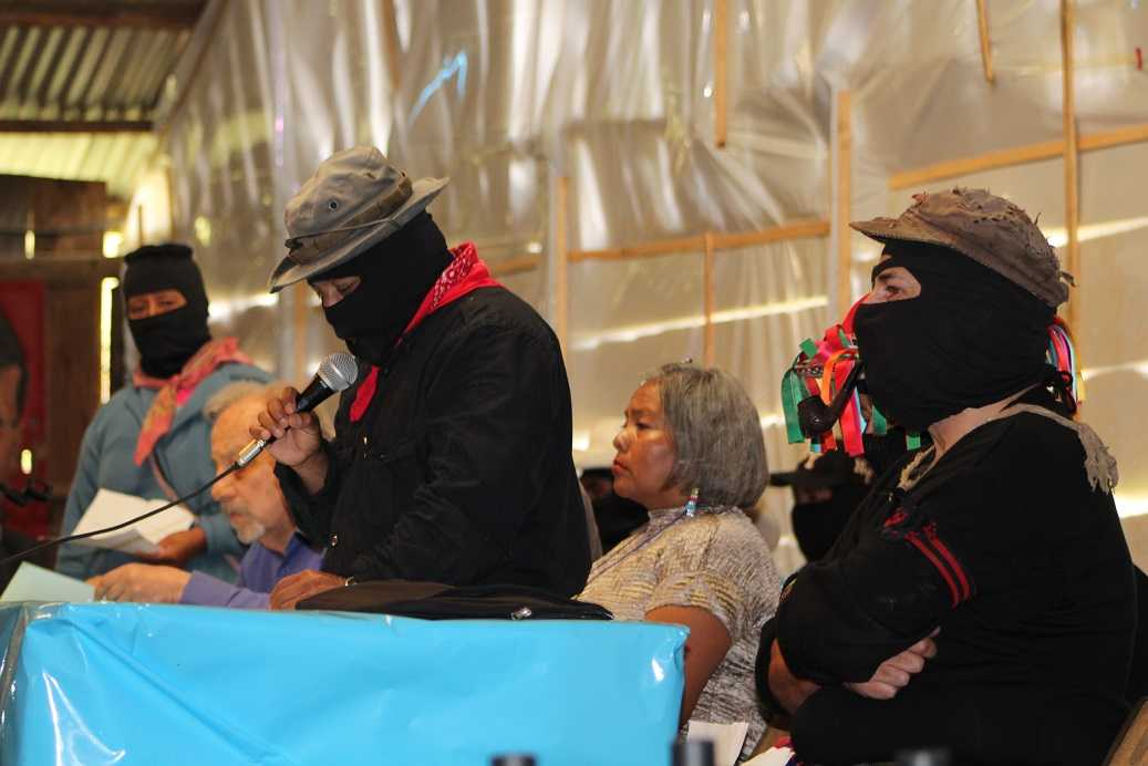 Asesinato de líderes indígenas es responsabilidad de 'malos gobiernos': CNI-EZLN