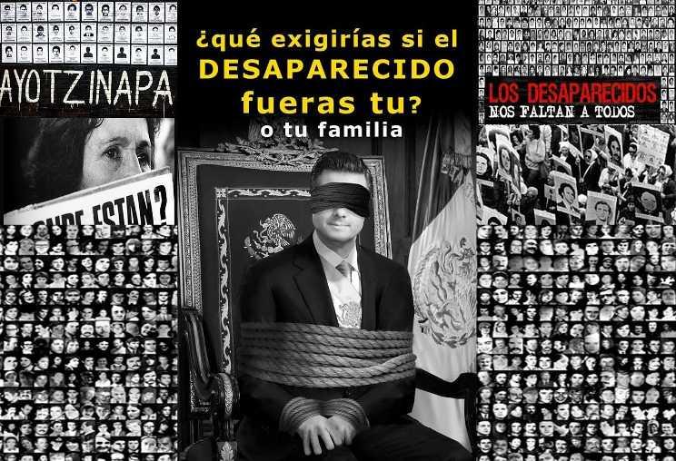 Con Peña Nieto, van más de 10 mil desaparecidos en México: AI
