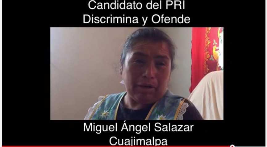 Humilla candidato del PRI a ama de casa