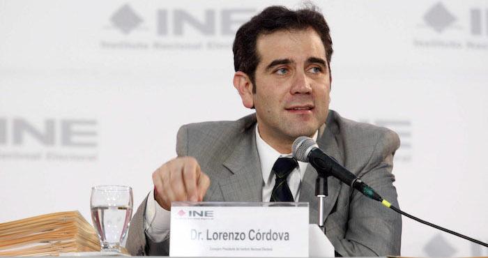 Lorenzo Córdova convocó a hacer un 'corte de caja'  de lo bueno y malo en las elecciones