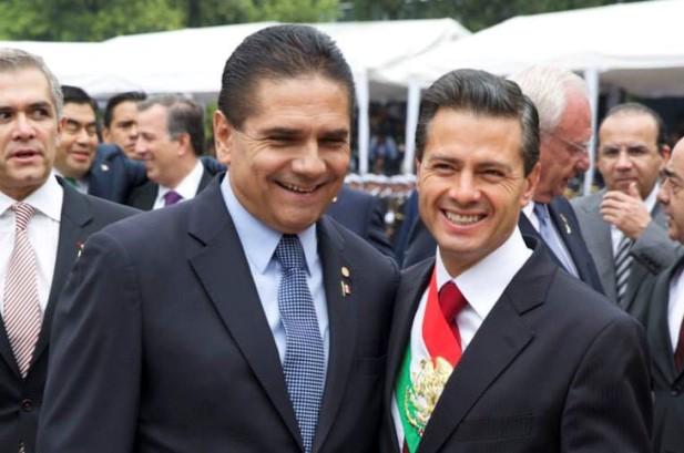 Silvano Aureoles Peña Nieto