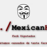 Anonymous hackea página de Diputados y revela contratos millonarios