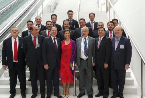 Gobernadores de México de tour por Europa