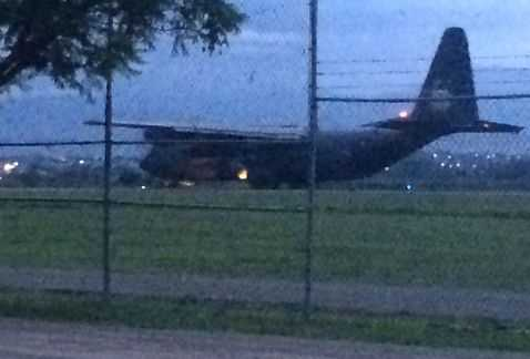 Envían a Oaxaca 7 aviones Hércules con gendarmes, soldados y federales