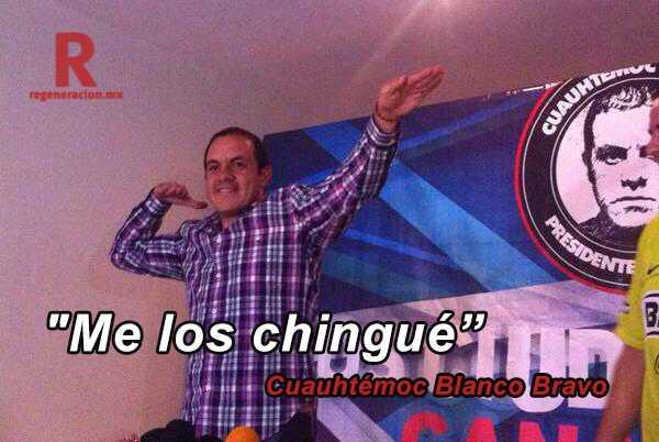 PRI denuncia irregularidades en la campaña de Cuauhtémoc Blanco