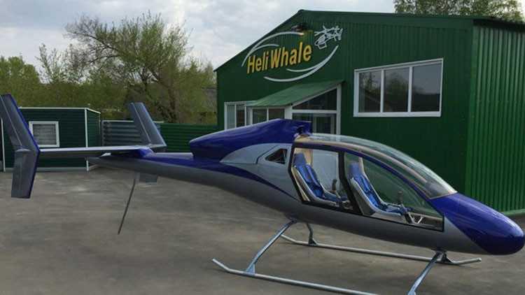 Presentan elhelicóptero más barato del mundo (video)