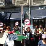 """""""Fuera Peña asesino"""", el grito con que reciben a EPN en Bruselas"""