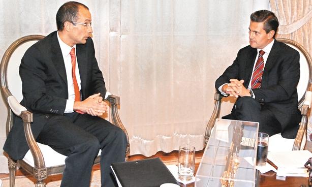 Presidencia borró las fotos de Peña Nieto y Lozoya con Odebrecht
