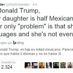 Rob Schneider responde a la intolerancia de Donald Trump