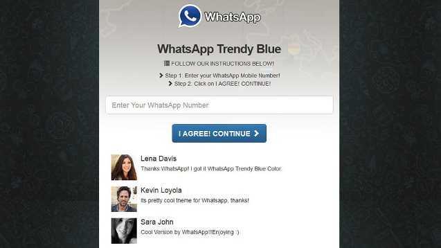 Trendy Blue la nueva estafa en WhatsApp