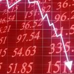 China,  caída de bolsa durante tres semanas