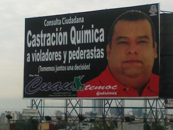 Procuraduría del DF, podría dejar impune a Cuauhtémoc Gutiérrez