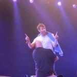 Bajan a Damon Albarn del escenario, tras negarse a culminar presentación