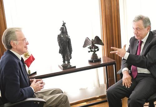 Jacobo Zabludovsky entrevista a López Obrador, de sus ultimas (video)