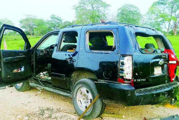 Militantes del PRI y PVEM se balean por despensas