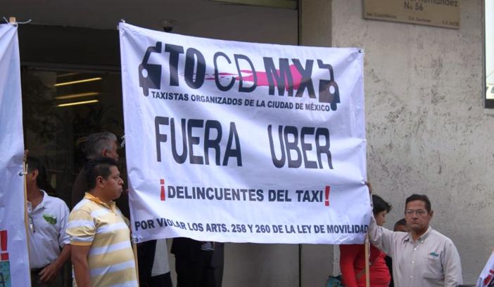 Regula GDF el servicio de Uber y Cabify