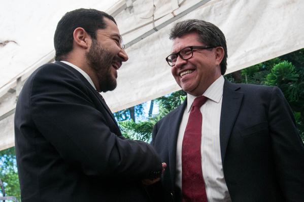 Batres confía que Monreal se quede en Morena; 'iría al gabinete de AMLO'