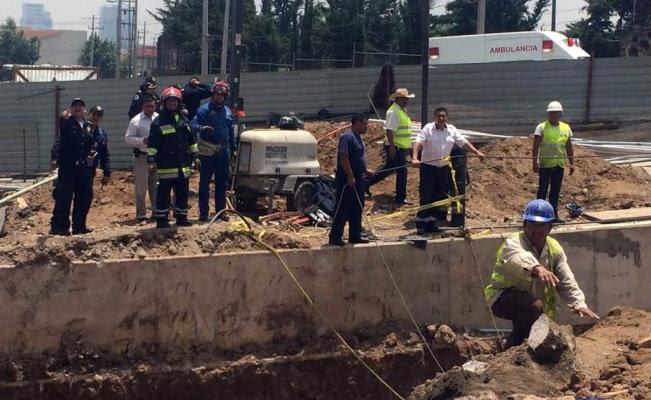 Derrumbe de puente en Cuajimalpa