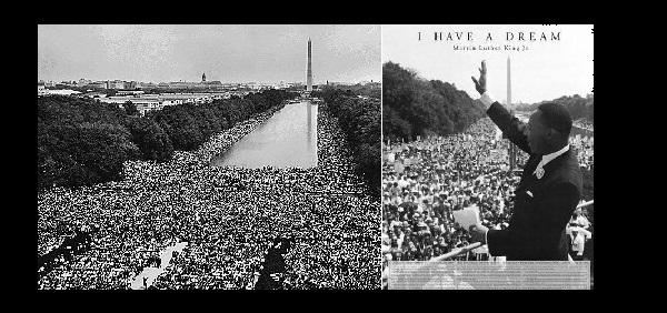 ¡Hoy tengo un sueño! Martín Luther King, 28 de agosto de 1963