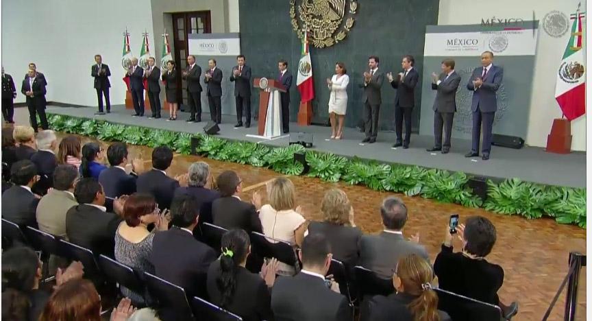 Aquí los cambios en el gabinete de Peña Nieto
