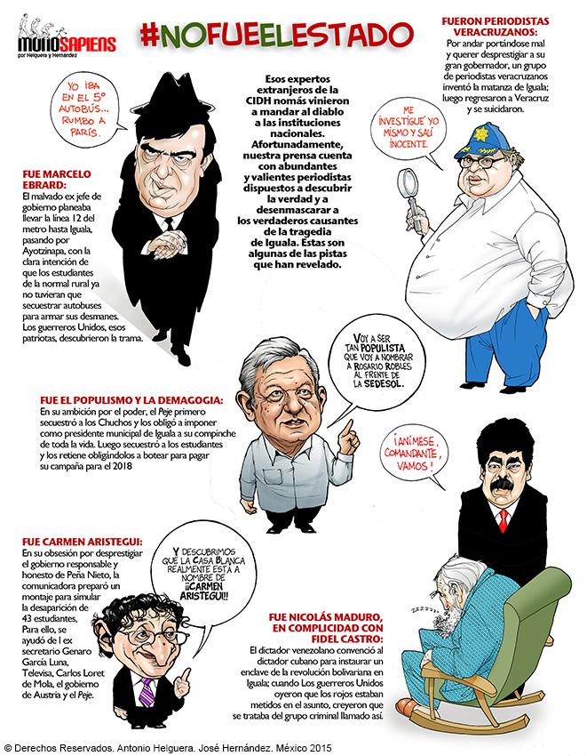 #NoFueElEstado (cartón de Helguera y Hernández)