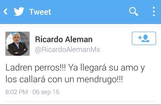 Ricardo Alemán recibe millones de pesos por parte de gobiernos del PRI