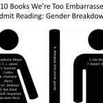 10 libros que te da vergüenza admitir que has leído
