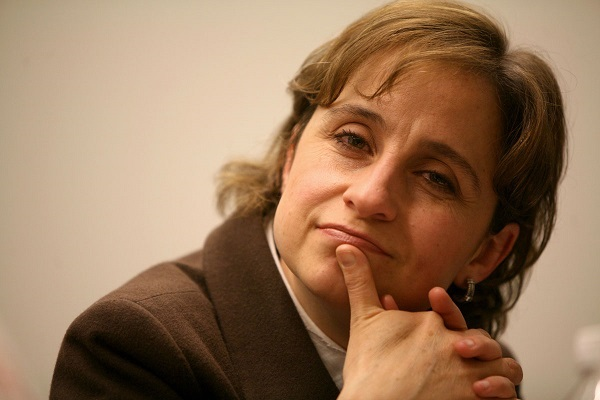 Aristegui recibirá Premio Presidencial al Valor, en Estados Unidos